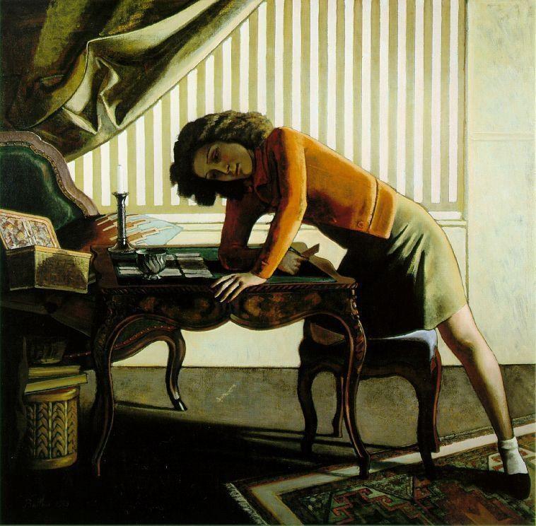 Voci d arte balthasar k ossowski de rola in arte balthus for Balthus la chambre turque