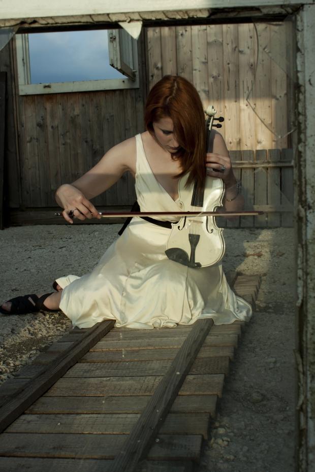 Foto Sofia violino4