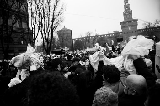 Se non ora quando le donne in piazza, Milano 13.02.2011