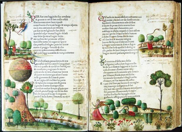 Incunabola del Canzoniere e dei Trionfi Petrarcheschi