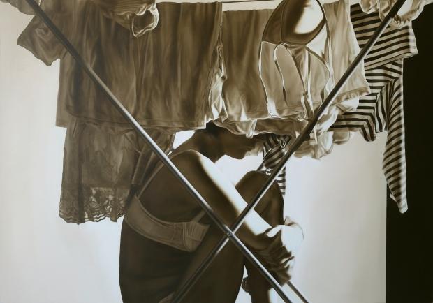 8- Personae, olio su tela,  140x200, 2012