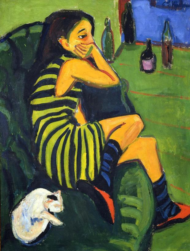 Ernst-Ludwig-Kirchner-–-Marzella-1910