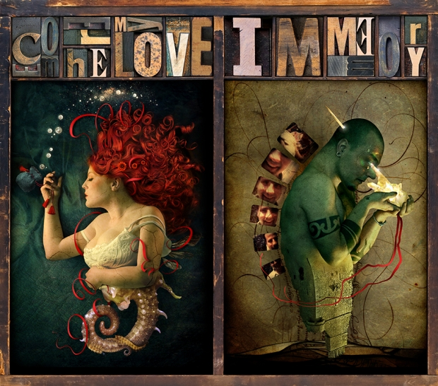 Diptych come here my love immemory