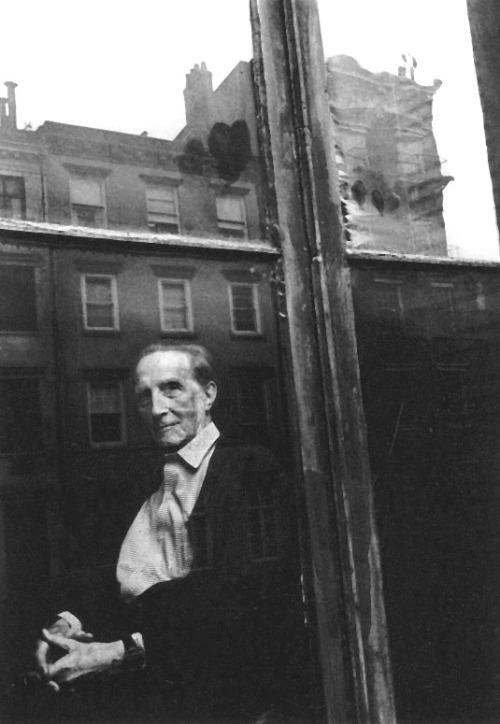 Marcel Duchamp, 1964, DUANE MICHALS /sc